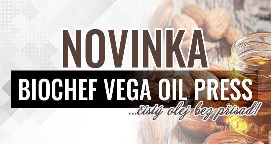 Nejlepší olejový lis Biochef Vega – nový v obchodě!